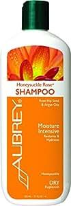 Aubrey Organics Moisturizing Shampoo - Honeysuckle Rose - 11 oz