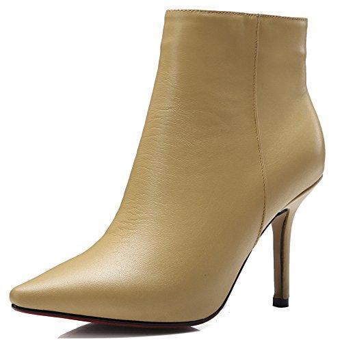 Nine SevenAnkle-boots - Botas mujer amarillo