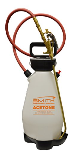 - Smith Performance Sprayers 190450 Compression Sprayer for Acetone and Water-Based Chemicals, 2 Gallon