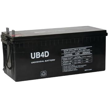 UPG 45965 Ub-4d Agm Sealed Lead Acid Battery