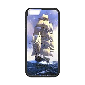 """Best Quality [LILYALEX PHONE CASE] Tall ship & Sailing Vessel For Apple Iphone 6,4.7"""" screen CASE-2"""