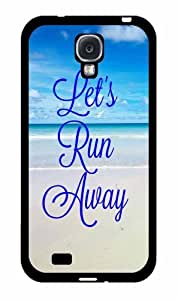 Let's Run Away - Plastic Phone Case Back Cover Samsung Galaxy S4 I9500