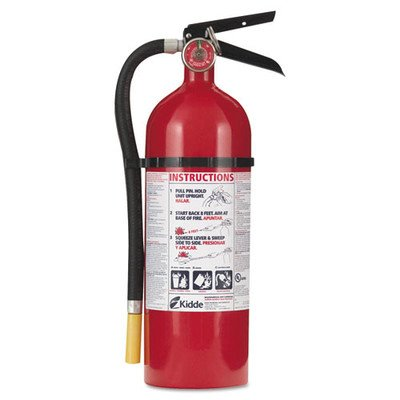 Fire Extinguishers Charge Weight - Proline Pro 5 Multi-Purpose Dry Chemical Fire Extinguisher