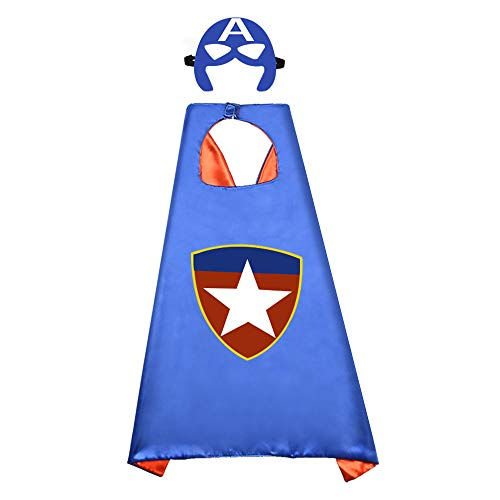 Cool Toys for 5-12 Year old Boys Girls, Easony Superhero Capes For Kids Birthday Christmas Presents Xmas Gifts for 3-12 Year Olds Girls Boys Toys Age 4-5 Stocking Stuffers (Presents For 9 Year Old Boy Nz)