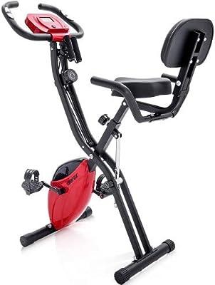 YL-Life ZDC-XBKIT - Bicicleta estática magnética, rojo: Amazon.es ...