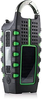 Eton NSP101WXGR Scorpion II Digital Radio w/2-Pk. Cross Clipray