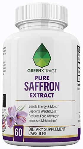 Saffron Extract 8850, Weight Loss Support, Mood Enhancement, Antioxidant Properties, Improving Libido, Eye & Brain Health, Increased Energy, Decreased Inflammation, for Men & Women ...