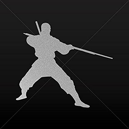 Amazon.com: Decal Stickers Martial Art Ninja Fighting Tablet ...