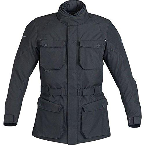 Alpinestars Messenger Waterproof Jacket , Apparel Material: Textile, Size: Sm, Primary Color: Black, Gender: Mens/Unisex 3208712-10-S
