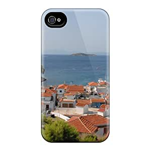 Snap-on Skiathos Greece Case Cover Skin Compatible With Iphone 4/4s