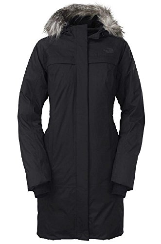 The North Face Womens Arctic Parka Down Jacket (Black, Medium)