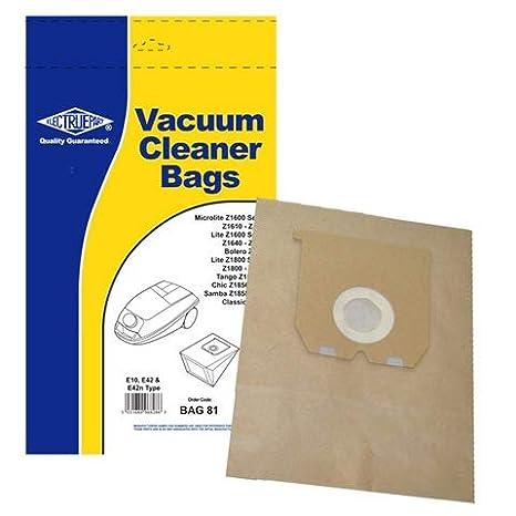 Amazon.com: Bolsas de aspiradora E10 y E42 aspiradora bolsa ...