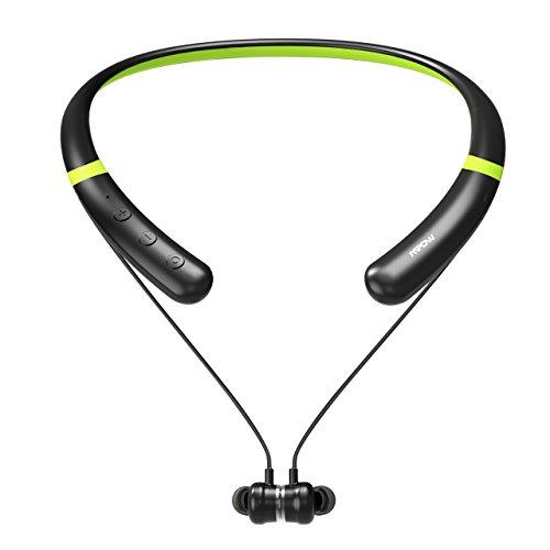 Mpow Active Noise Cancelling Bluetooth Headphones, V4.2 Blue