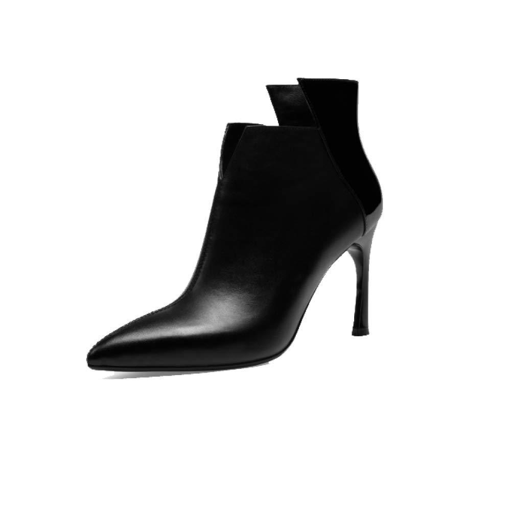 ZPEDY Pointu, Chaussures pour Black Femmes, Hauts, Pointu, Talons Hauts, Fermeture éclair, Confortable, élégant, Sauvage Black 95bdf75 - boatplans.space