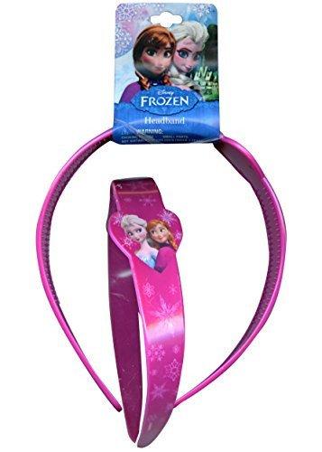 Disney Frozen Headband (Disney Frozen Elsa and Anna Girls Wide Headband)