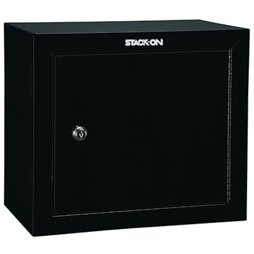 Stack-On GCB-500 Steel Pistol/Ammo Cabinet, Black by Stack-On
