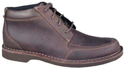 Clarks Men's Doby Moc Boot Chocolate (11 D (M) Mens US)