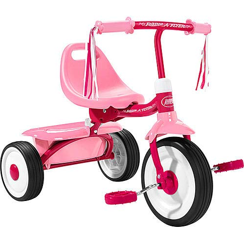 Radio Flyer Little Miss Flyer Fold-2-Go Tricycle - Pink
