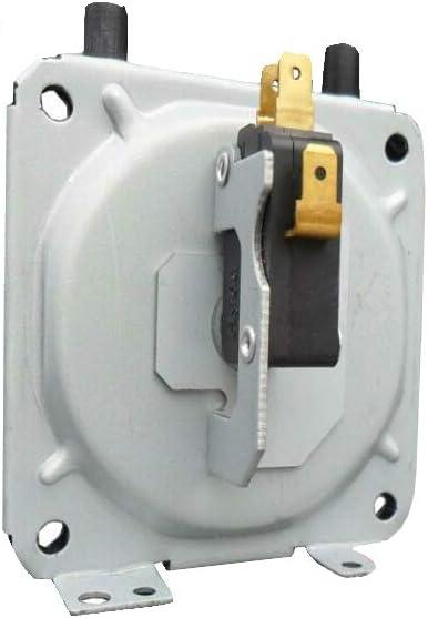 Meiyiu Piezas de reparación Fuertes del Calentador de Agua de la Caldera de Gas de Escape del Interruptor de presión de Aire Universal