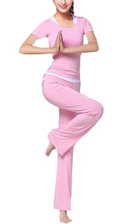 Conjunto de Ropa de Yoga de Ocio de Las Mujeres, Traje de ...