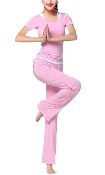 Traje de Yoga Delgado de Mujer, Ropa Deportiva 3 Piezas Set Modal ...