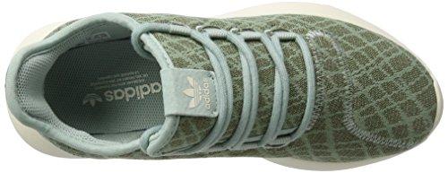 adidas Damen Tubular Shadow Sneaker Grün (Tactile Green/tactile Green/chalk White)