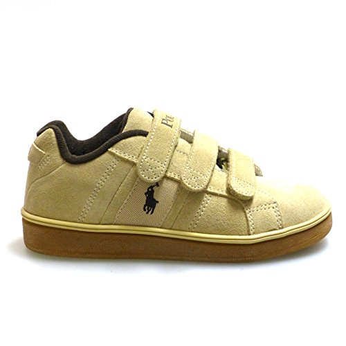 Ralph Lauren Zapatos Outlet Niño Racquet EZ Beig: Amazon.es: Zapatos y complementos