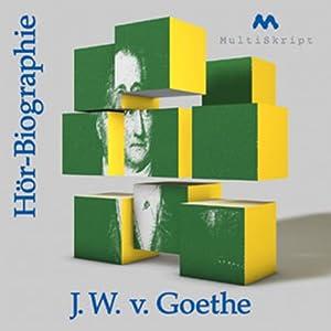 Goethe - Hörbiographie Hörbuch