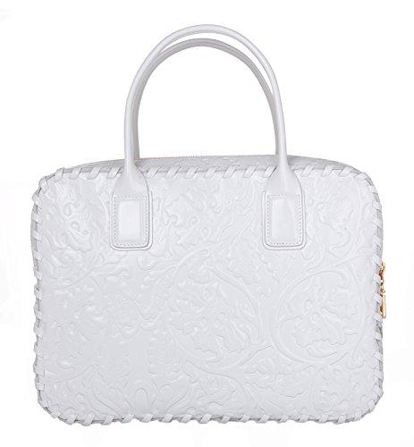 Versace City Vanitas DBFE767DVSST-D01OH Femmes Sac à main Bianco