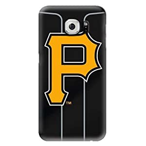 S6 Case, MLB - Pittsburgh Pirates Alternate Jersey - Samsung Galaxy S6 Case - High Quality PC Case
