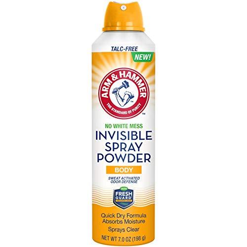 (Arm & Hammer No White Mess Invisible Spray Powder, 7 Ounces )