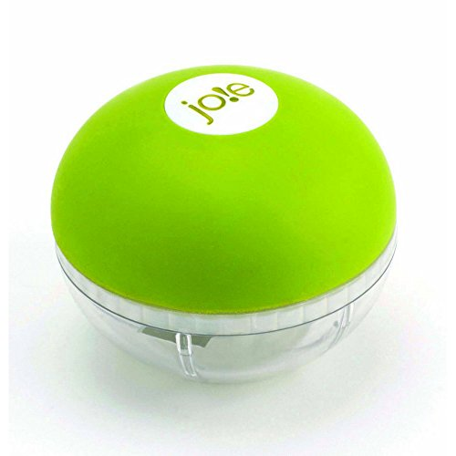 Garlic Cutter - Joie Garlic Chopper, Stainless Steel Blades, BPA Free and FDA Approved, 3-Inches x 2.5-Inches