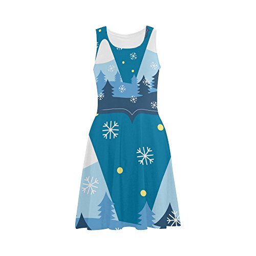 Christmas Tree Casual Sundress