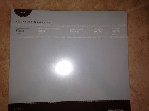 Creative Memories 12x12 12 X 12 White Refill Pages True New in Plastic