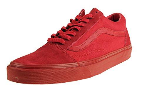 pour Baskets Red Mono Exclusive homme Vans APqp5wp