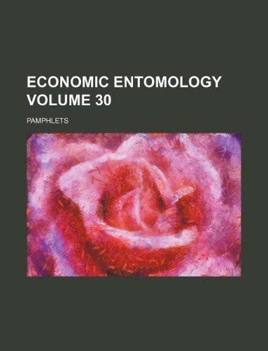 Download Economic entomology Volume 30 ; Pamphlets pdf epub