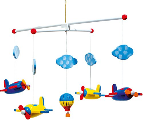 Hanging a baby mobile