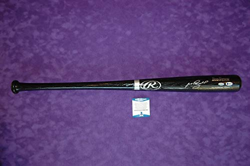 - Manny Ramirez Signed Bat Beckett COA - Beckett Authentication - Autographed MLB Bats