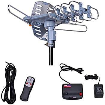 Amazon Com Amplified Hd Digital Outdoor Hdtv Antenna 150
