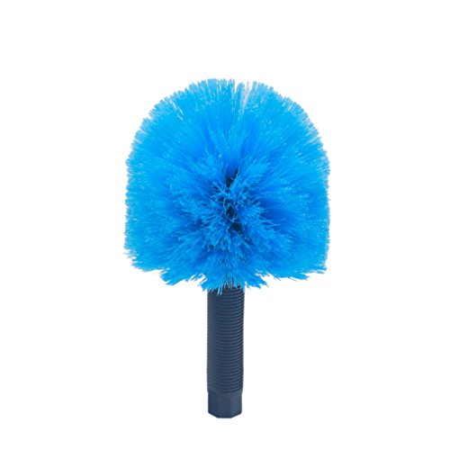 EVERSPROUT Twist On Cobweb Duster | Hand Packaged to Protect Bristles | Indoor & Outdoor use Brush Attachment | Fits Standard 3/4