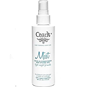 Crack: Anti-Frizz Improved Mist Spray Leave-In Conditioner Styling  Aid Light-Weight Formula, 6 oz
