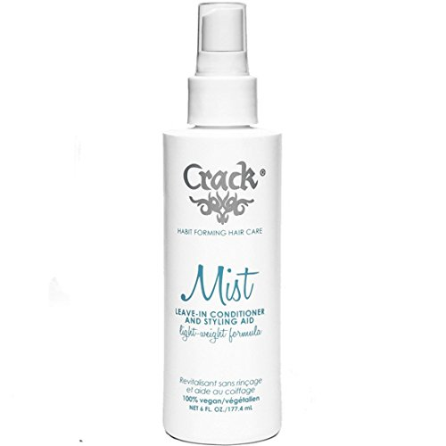 T And A Professional Light Therapy (Crack: Anti-Frizz Improved Mist Spray Leave-In Conditioner Styling  Aid Light-Weight Formula, 6 oz)