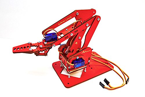 MeArm DIY Arduino Robot Arm Kit with MeCon Pro Motion Control Software