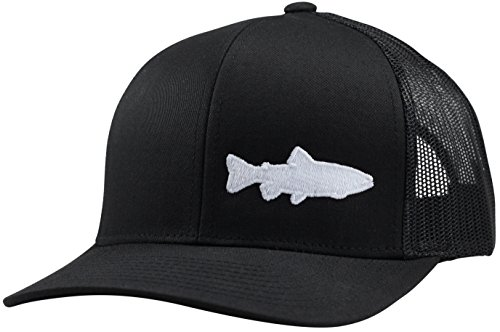 Lindo Trucker Hat - Trout Fishing 2.0 (Black)