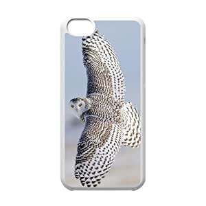 Okaycosama Funny IPhone 5C Cases Animal 35 for Teen Girls, Case for Iphone 5c for Men, {White}
