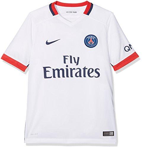 Nike 2ª Equipación Paris Saint Germain 2015/2016 - Camiseta Oficial niño: Amazon.es: Zapatos y complementos
