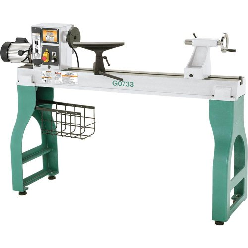 Grizzly G0733 18 by 47-Inch Heavy Duty Wood Lathe by Grizzly