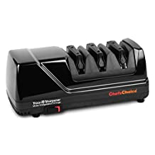 Chef's Choice 3-stage Model 15XV Electric Knife Sharpener, Black