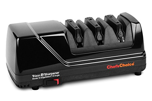 Chef's Choice Trizor Model 15 XV Electric Knife Sharpener, Black by Chef's Choice