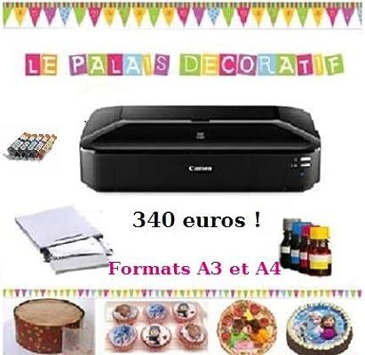 Impresora alimentaria, A3, Kit de Cartuchos Recargables: Amazon.es ...